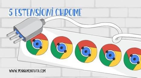 5 estensioni Chrome che semplificano il lavoro dei web editor | Being Social | Scoop.it