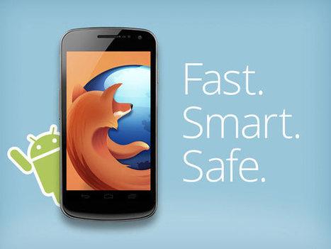 Mozilla apporte avec Firefox plus d'applications à Android - 1001actus | netnavig | Scoop.it