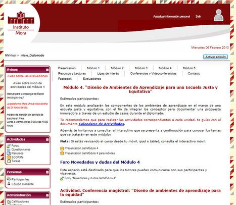 Plataforma virtual: un aula disponible en cualquier momento y lugar | DiplomadoDCDAVCA | Scoop.it