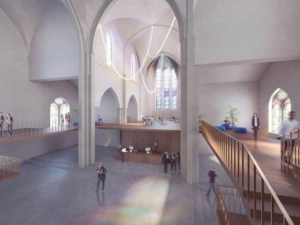 Lyon : une ancienne église va se transformer en lieu de vie et de travail | French-Connect*Expatriation | Scoop.it