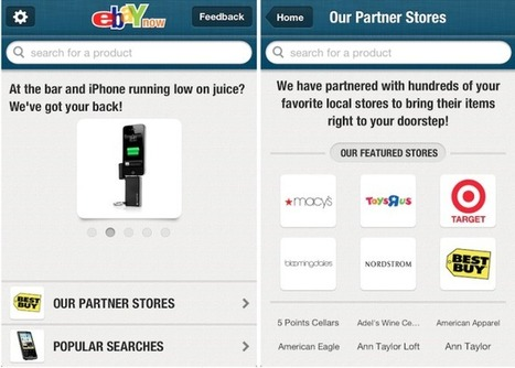 Ebay Now Pulled From App Store As Company Rethinks Its Same-Day DeliveryPlans   MarketingHits   Scoop.it