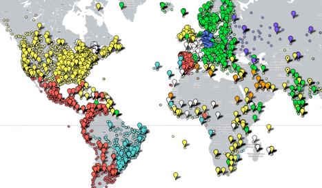 Newspaper Map. Une carte mondiale des journaux - Les Outils Tice | Linguagem Virtual | Scoop.it