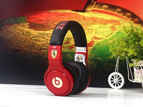 Eye-catching Monster Beats by Dre Pro Headphones Ferrari Limited Edition_hellobeatsdreseller.com | Monster Beats Pro | Scoop.it