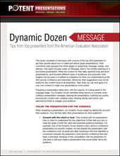 p2i | Dynamic Dozen Message | mesones | Scoop.it