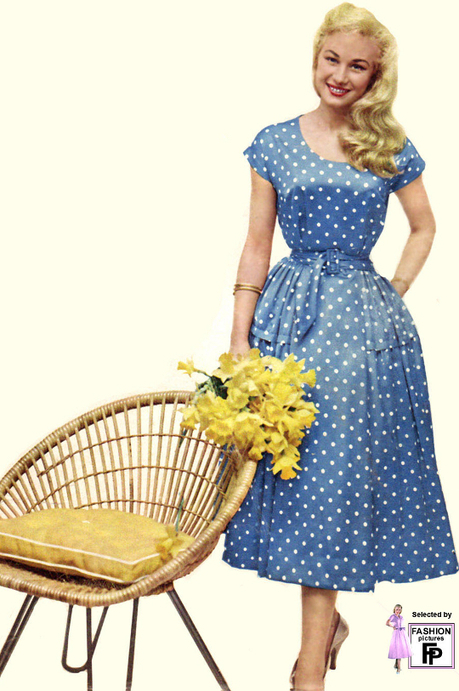 10 Feminine '50s Clothing Trends for Women Today « Sammy Davis Vintage | Vintage! | Scoop.it