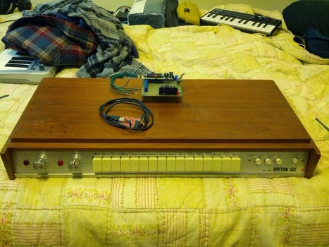 Rhythm Ace FR-2L Midi Retrofit with Arduino | DIY Music & electronics | Scoop.it