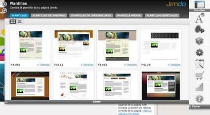 Páginas web sencillas y profesionales con Jimdo | Nuevas tecnologías aplicadas a la educación | Educa con TIC | Recull diari | Scoop.it