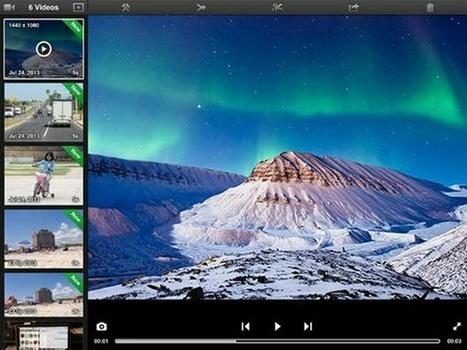 Las Mejores Apps para Grabar y Editar Vídeos en iPhone y iPad | Las Tabletas en Educación | Scoop.it