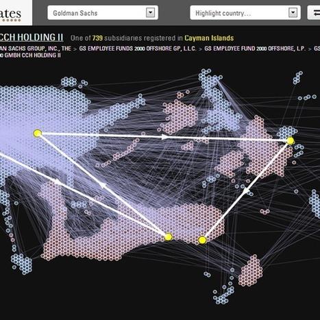 Open data platform reveals complex corporate structures of banks (Wired UK) | Open Knowledge | Scoop.it
