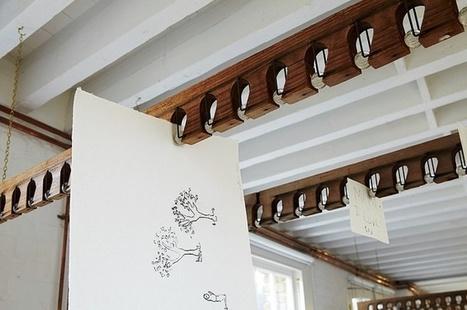 5 Quick Fixes: New Ways to Hang Art: Remodelista | puuta | Scoop.it