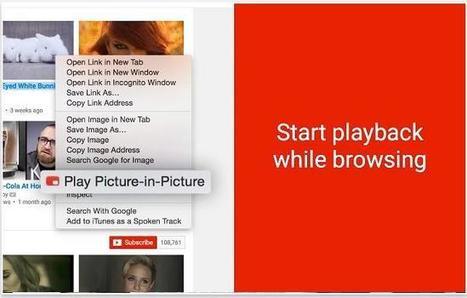 Voir les vidéos sur YouTube sans interruption, YouTube picture in Picture | Les Infos de Ballajack | Freewares | Scoop.it