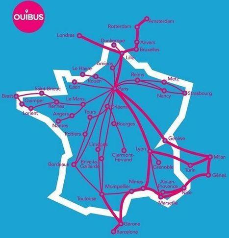 Autocars : la SNCF muscle son offre low cost avec Ouibus | Marketing & Tourisme | Scoop.it