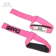 Pink Single Loop Lifting Strap | Gripped Fitness | Scoop.it
