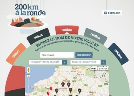 Une application Facebook 100% locavore avec 200 km à la ronde   A Table etc. !   Scoop.it