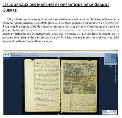 Article du jour (225) : JMO de la Grande Guerre | Charentonneau | Scoop.it