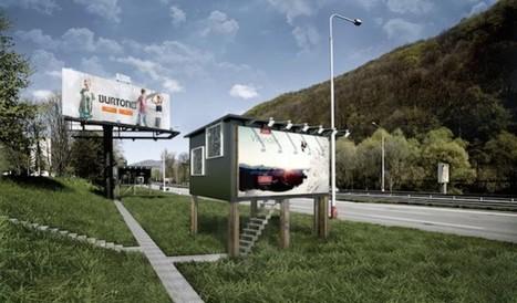 Billboard Houses For Homeless | Innovation dans l'Immobilier, le BTP, la Ville, le Cadre de vie, l'Environnement... | Scoop.it