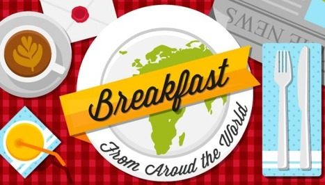 [Infographic] Breakfast From Around The World | Foodesign | Scoop.it