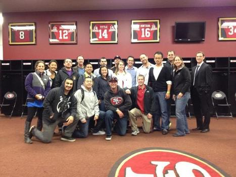 @usfca Sport Management students at the 49ers headquarters | Sports Entrepreneurship - Watts 4334746 | Scoop.it