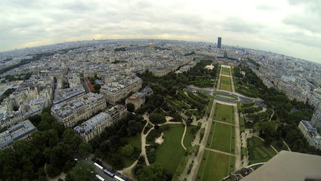 Google Lat Long: Scaling the heights of the Eiffel Tower   Google - le monde de Google   Scoop.it