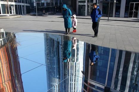 Des lacs en miroirs pour sensibiliser les chinois aux changements climatiques | streetmarketing | Scoop.it
