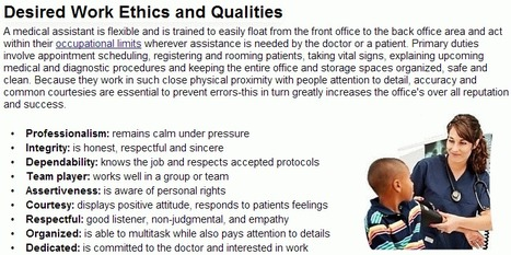 Definition of a Medical Assistant - Medical Assistant NET | Medical Assistant NET | Scoop.it