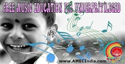 Free Music Education for Underprivileged: Blessing in Disguise   AmecIndia   Scoop.it