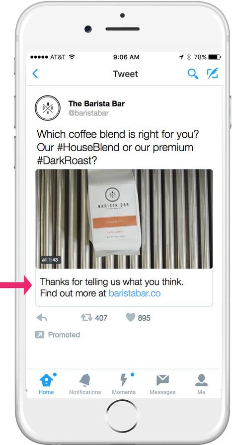 Twitter Conversational Ads : un nouveau format publicitaire ! | Digital Social Club | Scoop.it