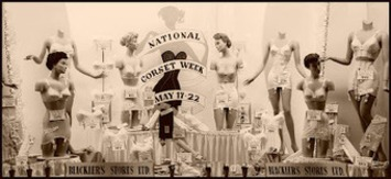 A Slip of a Girl: National Corset Week History | Lingerie Love | Scoop.it