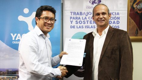 Yachay - Public Company Yachay and Charles Darwin Foundation sign cooperation agreement for the benefit of the country. | Galapagos | Scoop.it