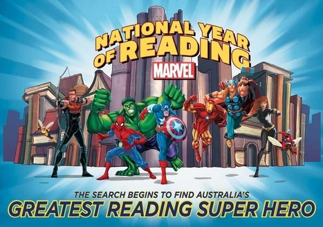 Minisites - Readingsuperhero - Home - Scholastic Australia | Promoting Reading for boys | Scoop.it