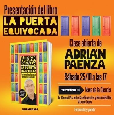 Clase abierta de Adrián Paenza en Tecnópolis - Noticias educ.ar   Conectar Igualdad   Scoop.it