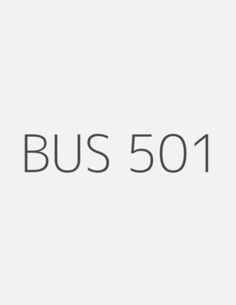BUS 501 Week 6 Discussion Question 1 and Discussion Question 2 | UopGuide.com | Scoop.it