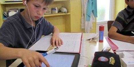 La tablette numérique entre à l'école   L'école numérique   Scoop.it