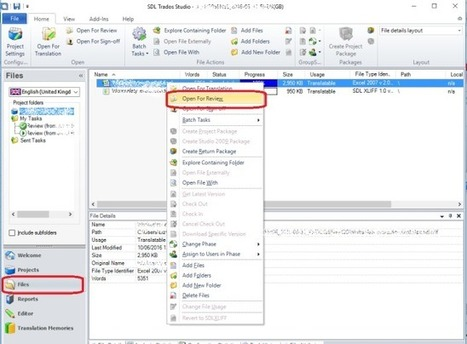 Basic introduction to SDL Trados Studio 2014 for editors (from LibroEditing blog) | Translator Tools | Scoop.it