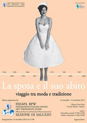fSaluzzo: 40 abiti da sposa in mostra: un secolo tra moda e tradizione - targatocn | Visual Merchandising Fashion Retailing | Scoop.it