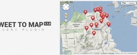 Tweet To Map - Visualisez les tweets sur Google Maps avec jQuery   JFPalmier   WebDevelopment   Scoop.it
