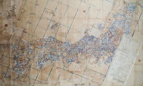 18th century maps show South Korea-contested Takeshima as part of Japan | Takeshima dispute | Scoop.it