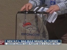 Broncos remind fans: Only clear bags allowed into stadium - The Denver Channel | Sports Facility Management.4472016 | Scoop.it