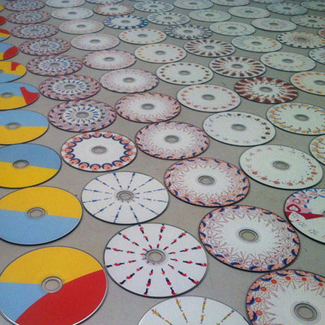 Music Video Beautifully Animated on Spinning CDs | art education | Scoop.it