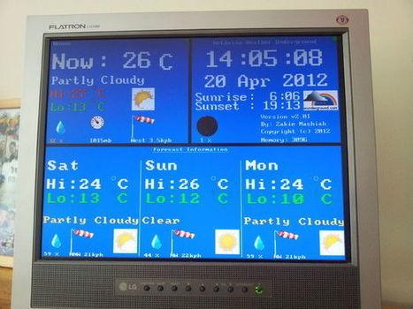 Weather station (Underground) with Netduino | Arduino, Netduino, Rasperry Pi! | Scoop.it