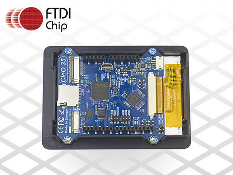 FTDI's Pioneering Arduino-Compatible Touch-Enabled Display Shield Starts Shipping | Raspberry Pi | Scoop.it