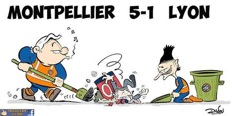 Montpellier 5-1 Lyon | Baie d'humour | Scoop.it