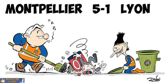 Montpellier 5-1 Lyon | Baie d'humour | Scoop.it