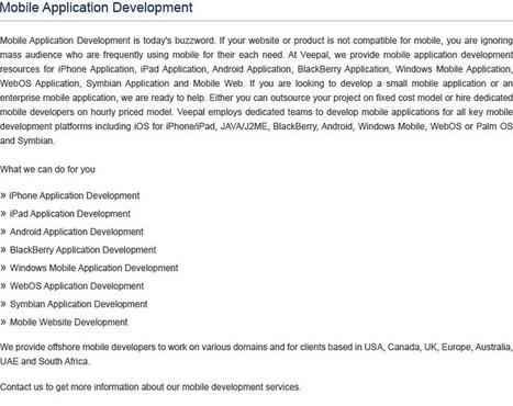 Mobile Application Development Company in UK | Android & iPhone Application Development Companies in UK | Mobile Application Development Company | Scoop.it