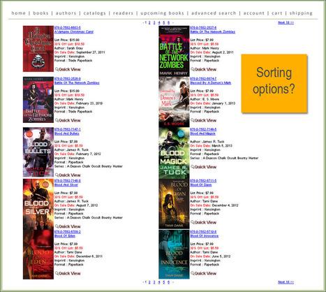 Ecommerce in Publishing: Kensington Books | Purchasing Books Online | Scoop.it