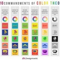 The 10 Commandments of Color Theory | Visual.ly | Learning Technology and Higher Education | Scoop.it