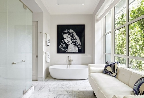 Vintage Vixen (INSPIRED SPACES: BATH via Contemporary Bathroom by...) | Great Bathroom and Kitchen Style | Scoop.it