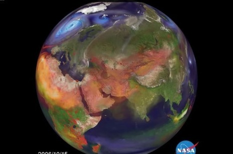 Frightening video shows Asia's air pollution spread across Earth | Peer2Politics | Scoop.it