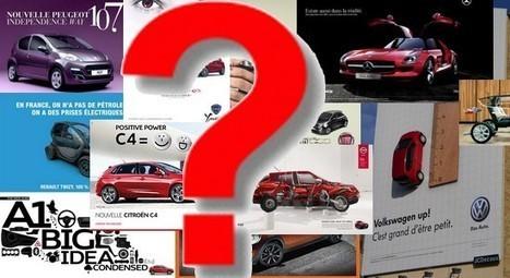 Enquête sur la pub auto 2012 : tous les résultats!   Marketing et Automobile   Scoop.it
