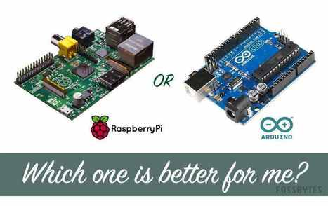 Raspberry Pi or Arduino — Which Board Is Best For A Beginner? | Raspberry Pi | Scoop.it
